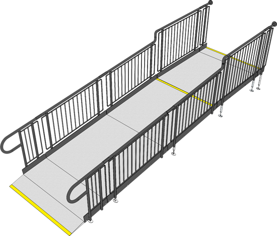Fully compliant ramp system