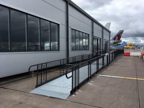 Specifying the right airport ramp