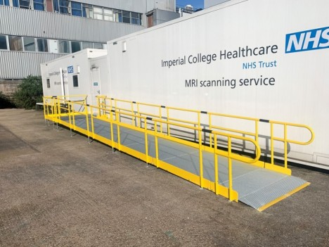 Ramps suitable for hospital beds & Patient equipment